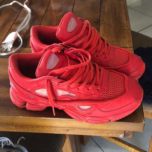 on sale 41c63 d624a All Red RAF SIMONS Sneakers. M 5b51037cbf7729e6e3baac29